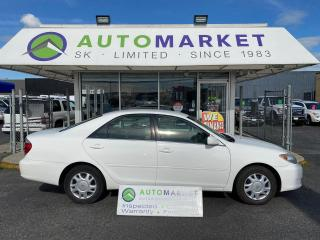 Used 2005 Toyota Camry LE FREE BCAA! FREE WRNTY! WE FINANCE EVERYONE! NO CREDIT REQ. for sale in Langley, BC