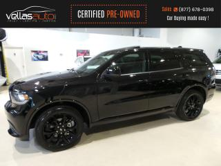 Used 2020 Dodge Durango SXT| AWD| NAVI| SUNROOF| BLK TOP PKG for sale in Vaughan, ON