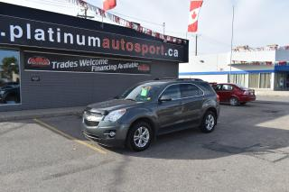 Used 2012 Chevrolet Equinox 1LT REMOTE START!! HEATED SEATS!! BACKUP CAMERA!! BLUETOOTH!! for sale in Saskatoon, SK