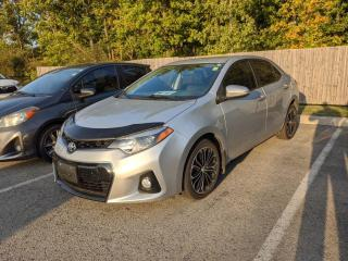 Used 2015 Toyota Corolla S - WITH TECH PKG - NAVI, LEATHER, SUNROOF +++ for sale in Welland, ON