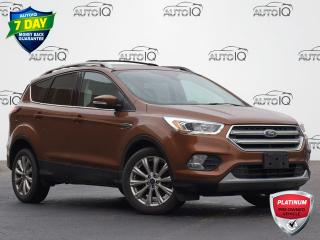 Used 2017 Ford Escape Titanium FRONT WHEEL DRIVE | LEATHER | HEATED SEATS | BLUETOOTH | BACKUP CAM | LOW KM for sale in Waterloo, ON