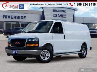 Used 2018 GMC Savana 2500 Work Van for sale in Prescott, ON