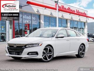 New 2020 Honda Accord Sedan Sport for sale in Sudbury, ON
