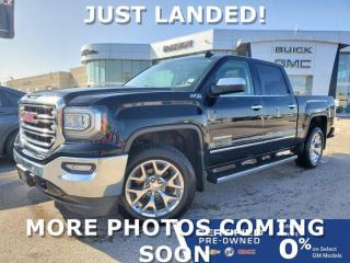 Used 2016 GMC Sierra 1500 SLT 4x4 Crew Cab | Heated & Cooled Seats for sale in Winnipeg, MB