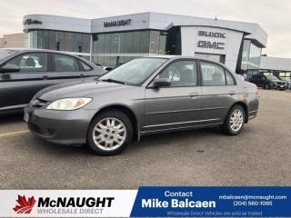 Used 2004 Honda Civic Sdn LX for sale in Winnipeg, MB