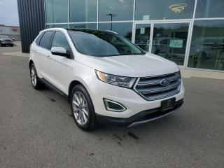 Used 2017 Ford Edge Titanium Apple CarPlay, Heated Seats, Pano Sunroof!! for sale in Ingersoll, ON