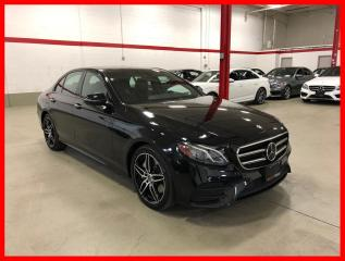 Used 2019 Mercedes-Benz E-Class E450 4MATIC NIGHT DISTRONIC PREMIUM 360 CAM CLEAN CARFAX! for sale in Vaughan, ON
