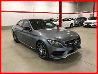 Used 2017 Mercedes-Benz C-Class C43 AMG 4MATIC PREMIUM AMG DRIVER LED CLEAN CARFAX! for sale in Vaughan, ON