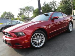 Used 2014 Ford Mustang PREMIUM|V6|SKY VIEW|LEATHER|LOW KMS|97,000KMS for sale in Burlington, ON