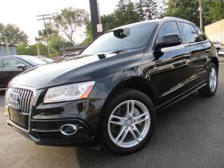 Used 2016 Audi Q5 TDI TECHNIK|S-LINE PKG|NAVIGATION|PANORAMA ROOF| for sale in Burlington, ON