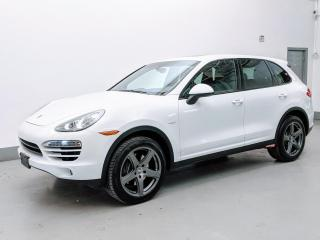 Used 2014 Porsche Cayenne DIESEL/CONVENIENCE PKG/PARK ASSIST/BACK-UP CAM! for sale in Toronto, ON