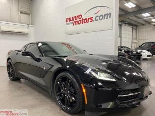 Used 2019 Chevrolet Corvette 2dr Stingray Cpe w-1LT NAV PDR Z51 Wheels for sale in St. George, ON
