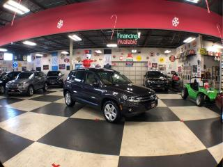Used 2016 Volkswagen Tiguan 2.0TSI COMFORTLINE SPORT PKG AWD LEATHER PANO/ROOF CAMERA 88K for sale in North York, ON