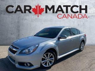 Used 2014 Subaru Legacy 2.5I PREMIUM / NO ACCIDENTS / AWD for sale in Cambridge, ON