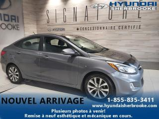 Used 2016 Hyundai Accent SE+A/CTOIT+BANCS CHAUF+BLUETOOTH+MAGS for sale in Sherbrooke, QC