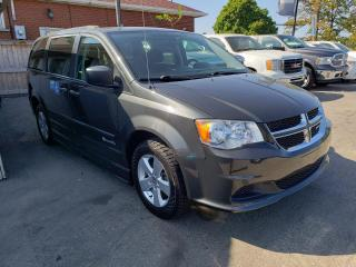 Used 2012 Dodge Grand Caravan SE*BRAUN ABILITY*WHEELCHAIR ACCESS*LOW KMS* for sale in Hamilton, ON