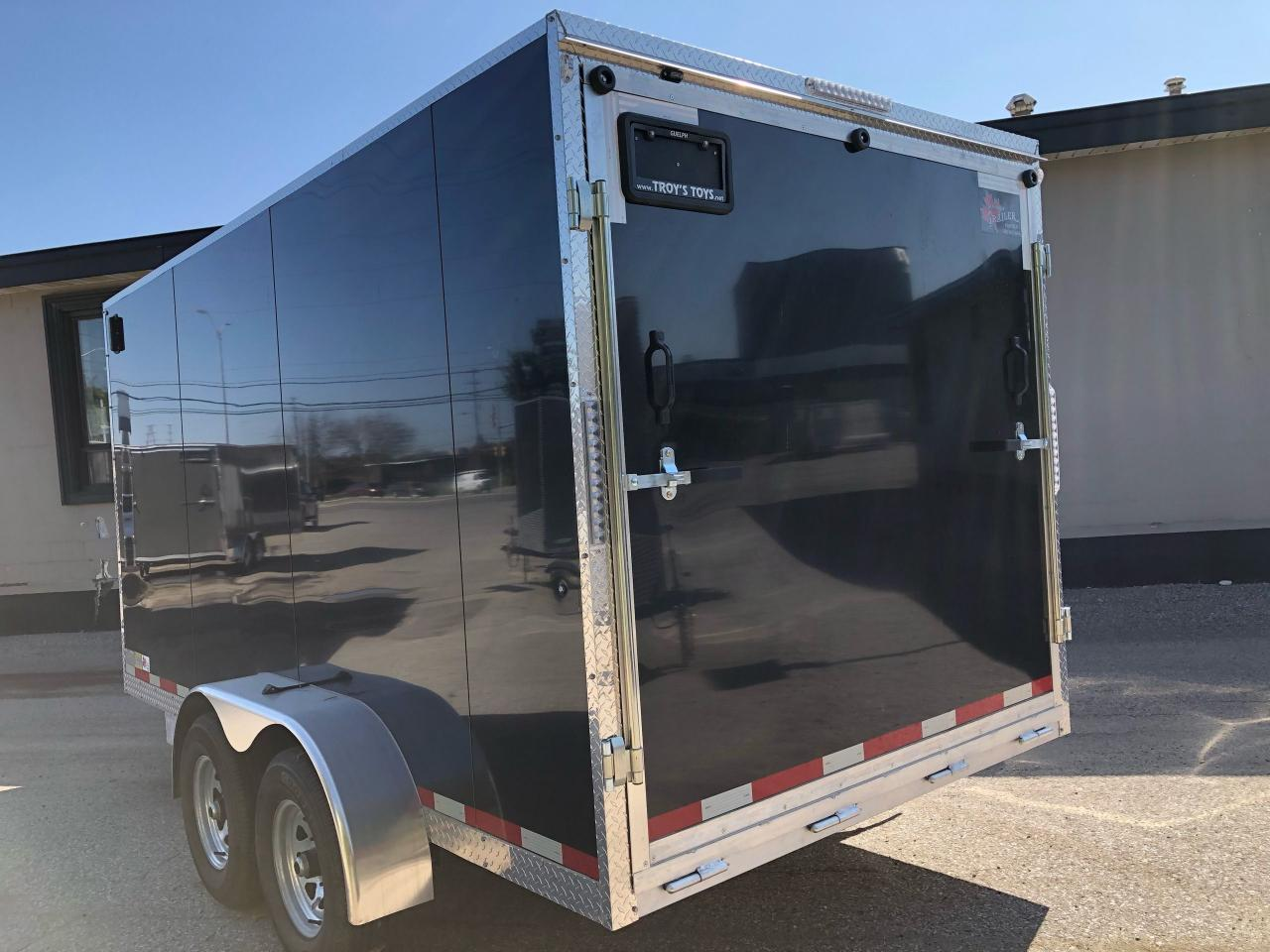 2021 Canadian Trailer Company 7x14 V Nose Cargo Trailer
