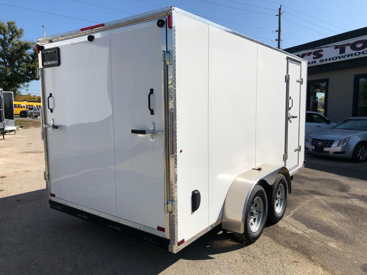 2021 Canadian Trailer Company 7x14 Flat Nose Cargo Trailer