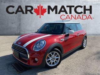 Used 2017 MINI Cooper LEATHER / NAV / PANO ROOF for sale in Cambridge, ON