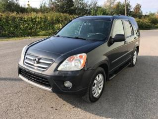 Used 2006 Honda CR-V 4 RM SE, boîte automatique for sale in Québec, QC