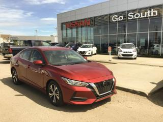 New 2020 Nissan Sentra SV BACK UP CAMERA PUSH START BLUETOOTH for sale in Edmonton, AB
