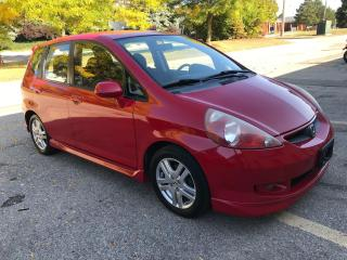 Used 2008 Honda Fit 5dr HB Man Sport,NO ACCIDENTS,CERTIFIED !! for sale in Burlington, ON
