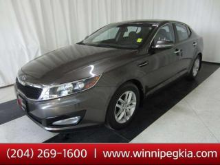 Used 2012 Kia Optima LX *Always Owned In MB!* for sale in Winnipeg, MB