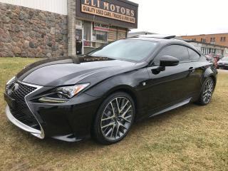 Used 2017 Lexus RC 300 F SPORT NAVI REAR CAM BMS RED INTERIOR for sale in North York, ON