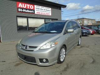 Used 2007 Mazda MAZDA5 GT for sale in St-Hubert, QC