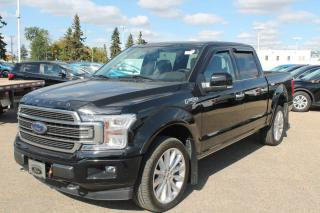New 2020 Ford F-150 Limited 4WD | Heated and Cooled Luxurious Leather | Raptor High Performance Engine | Sunroof for sale in Edmonton, AB