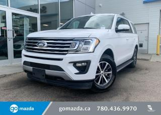 Used 2019 Ford Expedition XLT - 4X4, LEATHER, 8 PASSANGER, REMOTE START, HEATED AND A/C SEATS, IN OXFORD WHITE! for sale in Edmonton, AB