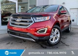 Used 2017 Ford Edge SEL - ONE OWNER LOW KMS, AWD, LEATHER, SUNROOF, POWER TAILGATE, NAV. for sale in Edmonton, AB