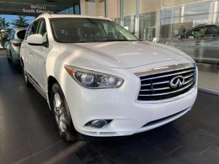 Used 2014 Infiniti QX60 AWD, ACCIDENT FREE, POWER HEATED LEATHER SEATS, REAR VIEW CAMERA, SUNROOF for sale in Edmonton, AB