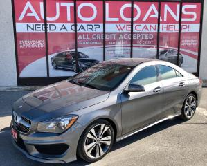 Used 2016 Mercedes-Benz CLA-Class CLA 250-ALL CREDIT ACCEPTED for sale in Toronto, ON