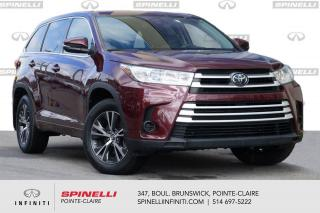 Used 2017 Toyota Highlander AWD 4dr LE / CAMERA DE RECUL / MAG / BLUETOOTH 1 PROPRIO / JAMAIS ACCIDENTE for sale in Montréal, QC