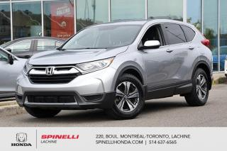 Used 2018 Honda CR-V LX FWD MAGS BAS KM LX FWD BAS KM CRUISE BLUETOOTH for sale in Lachine, QC