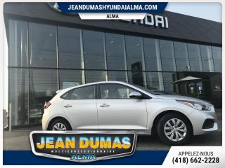Used 2019 Hyundai Accent UN VÉHICULE NEUF POUR $49.00 DOLLARS PAR for sale in Alma, QC