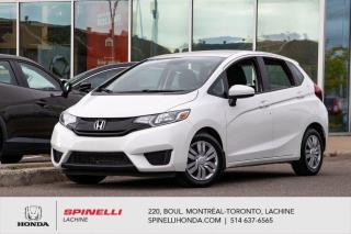 Used 2017 Honda Fit DX MANUELLE BAS KM 8 PNEUS MANUELLE BAS KM for sale in Lachine, QC