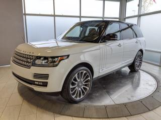 Used 2017 Land Rover Range Rover AUTOBIGRAPHY - ONE OWNER for sale in Edmonton, AB