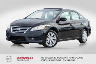 Used 2013 Nissan Sentra SL NAVIGATION / TOIT OUVRANT / CUIR /  MAG 17', A/C for sale in Montréal, QC