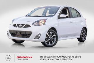 Used 2016 Nissan Micra SR SPORT /  MANUELLE / CAMERA DE RECUL / BLUETOOTH for sale in Montréal, QC