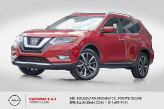 Used 2017 Nissan Rogue SL PLATINUM ÉDITION PLATINE / NAVIGATION / CUIR / TOIT PANORAMIQUE / CAMERA DE RECUL / DEMARREUR A DISTANCE for sale in Montréal, QC