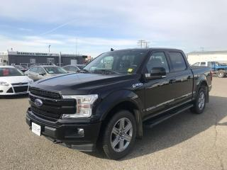 Used 2018 Ford F-150 Lariat 4WD SuperCrew 5.5' Box *DIESEL* *FULL LOAD* for sale in Brandon, MB