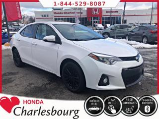 Used 2016 Toyota Corolla CE**BLUETOOTH**CAMÉRA DE RECUL** for sale in Charlesbourg, QC