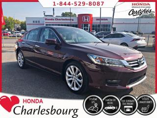 Used 2015 Honda Accord TOURING ***36 722 KM***UN PROPRIÉTAIRE** for sale in Charlesbourg, QC