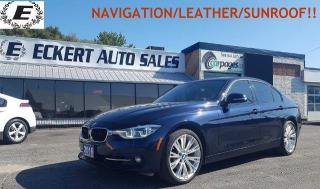 Used 2016 BMW 3 Series 328i xDrive/NAVIGATION/SUNROOF/LEATHER!! for sale in Barrie, ON