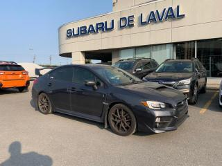 Used 2017 Subaru WRX STI SPORT TECH for sale in Laval, QC
