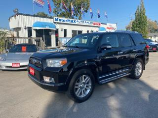 Used 2011 Toyota 4Runner SR5-LIMITED-AWD-LTHR-NAVI for sale in Stoney Creek, ON