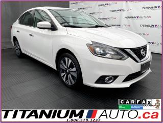Used 2017 Nissan Sentra SL+GPS+Camera+Radar Cruise+BSM+Leather+Sunroof+XM for sale in London, ON