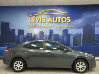 Used 2015 Toyota Corolla CE 85200 KM MANUEL 6 VITESSES AIR CLIMAT for sale in Lévis, QC
